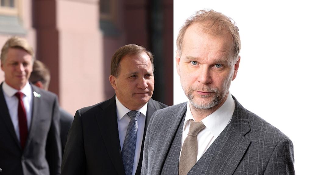 Stefan Löfven och Kristian Åström.