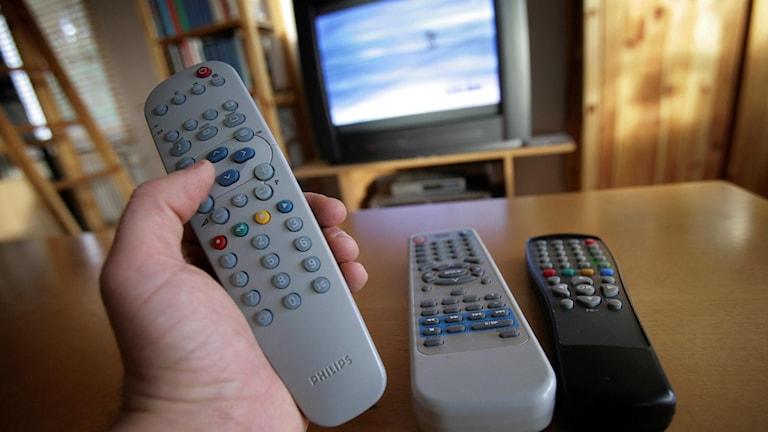 TV (arkivbild). Fredrik Sandberg / TT.
