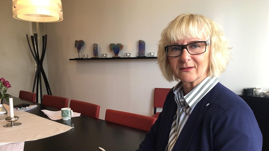 Lena Micko är ordförande för SKL.