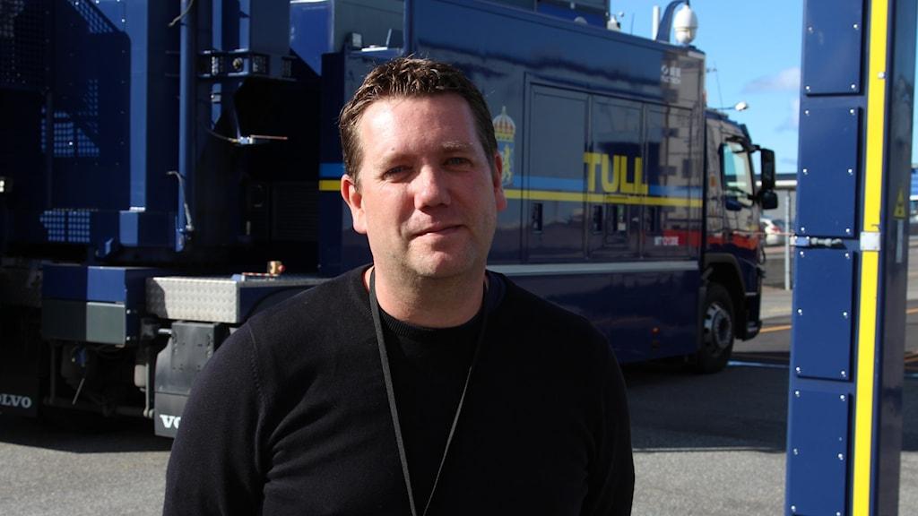 Martin Johansson är sakkunnig med inriktning mot eko- och miljöbrott på tullverket.