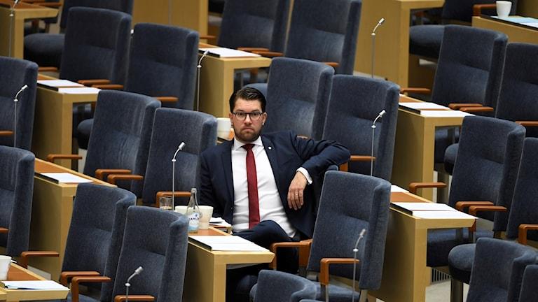Partiledardebatt Jimmie Åkesson