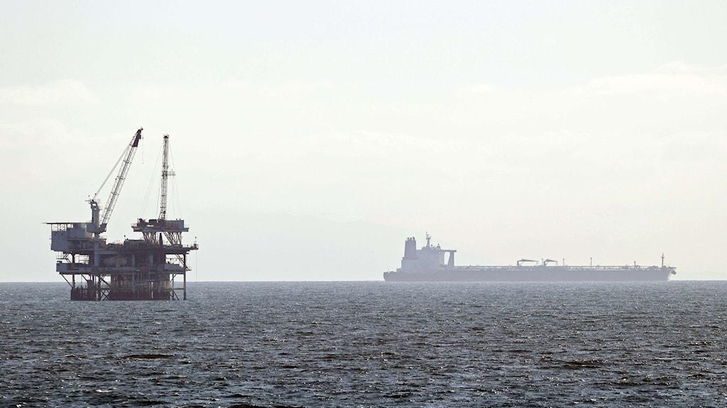 Oljetanker platform