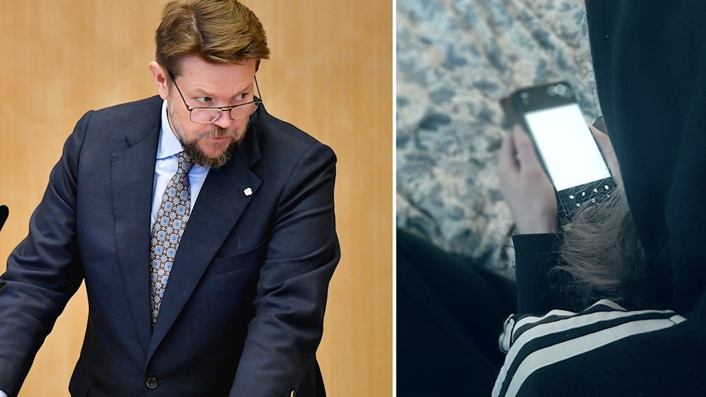 Johan Hedin, rättspolitisk talesperson för Centerpartiet.