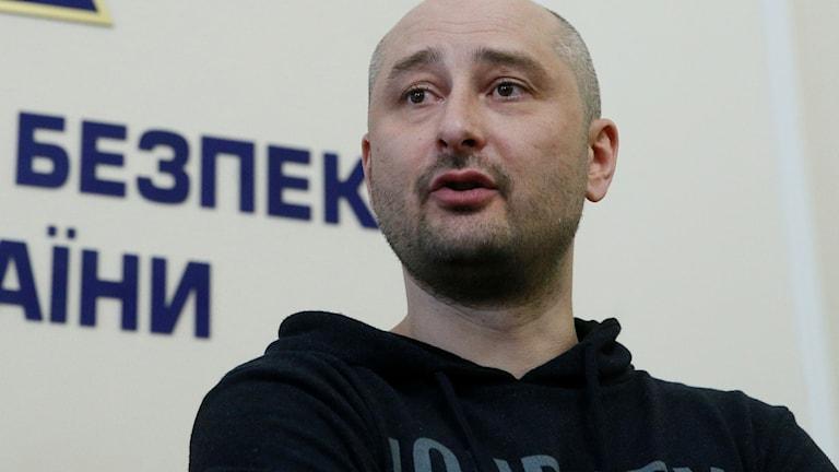 Arkadij Babtjenko. Foto: VALENTYN OGIRENKO/TT.