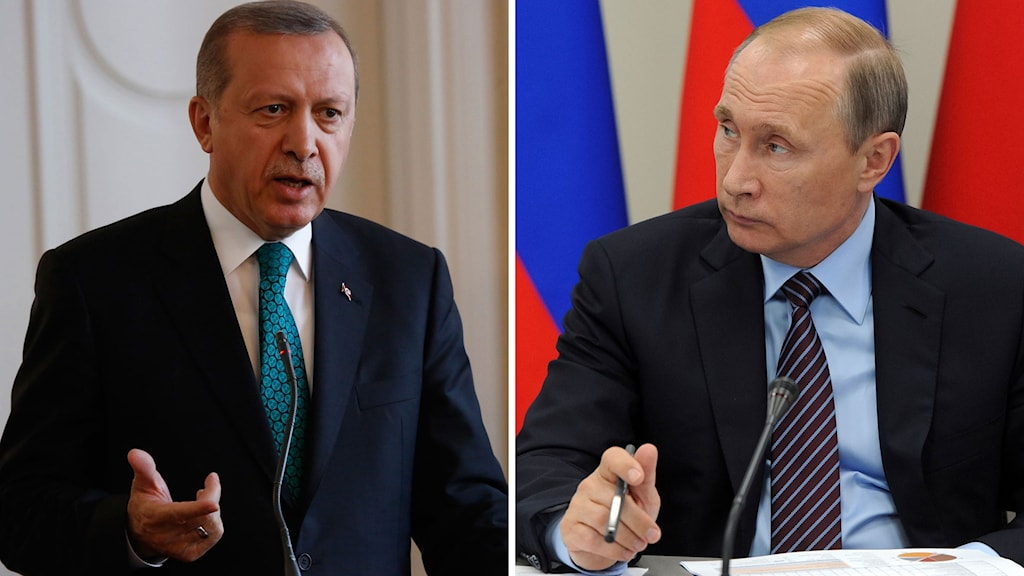 Recep Erdogan och Vladimir Putin