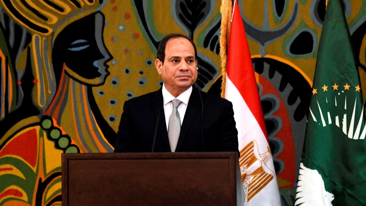 president Abdel Fatah al Sisi
