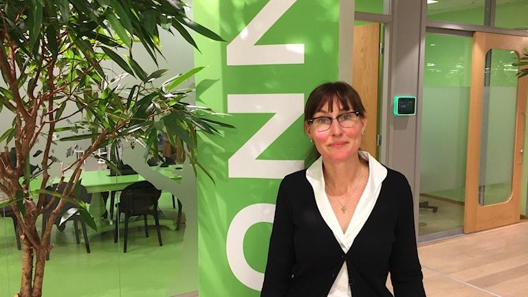 Linda Bell, EU-chef på Vinnova, som ger råd till svenska forskare.