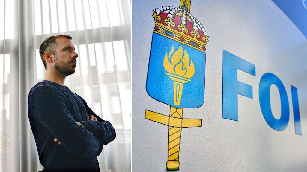 Expos ansvariga utgivare Daniel Poohl och Totalförsvarets forskningsinstitut, FOI