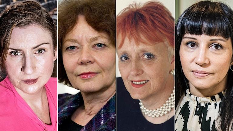 Birgitta Ohlsson, Maria Leissner, Maj-Lis Lööw och  Rossana Dinamarca var några av politikerna som undertecknat upproret.