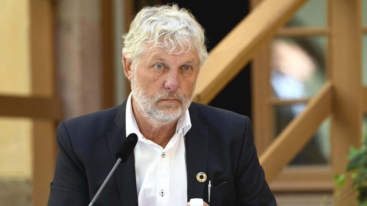 Peter Eriksson är minister för internationellt utvecklingssamarbete.