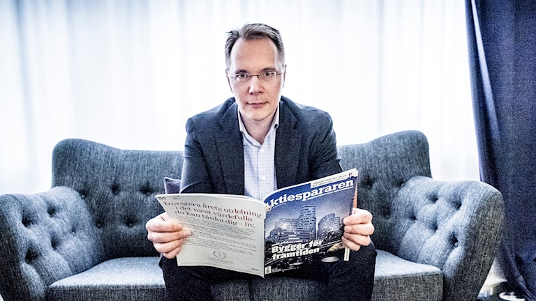 Joacim Olsson, vd på Aktiespararna.