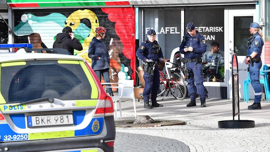 Poliser i Rågsved