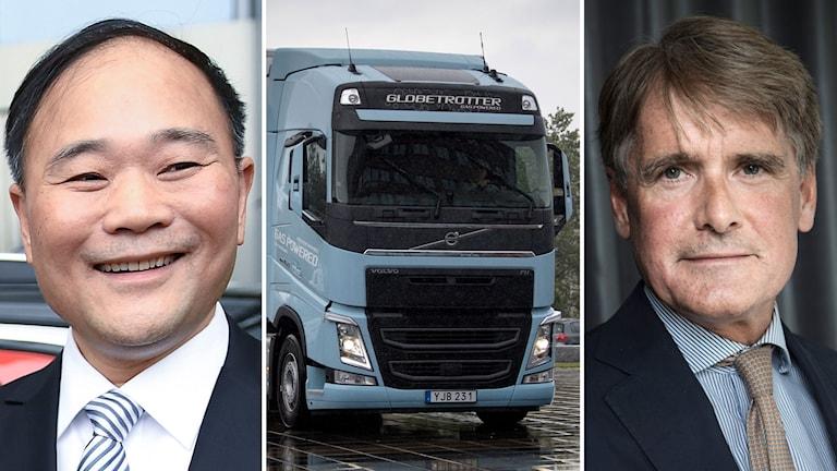 Geely köper Cevians innehav i AB Volvo.