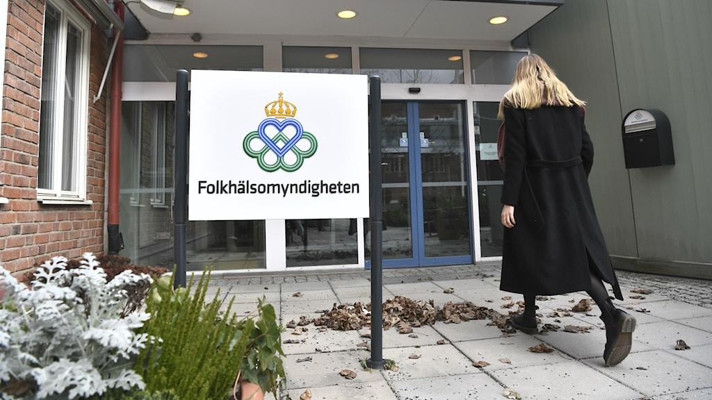 Folkhälsomyndigheten i Solna.