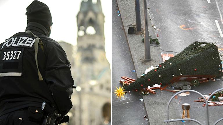 Mannen var övervakad av polis i Tyskland under lång tid. Men i början av december tappade polisen uppsikt över honom.