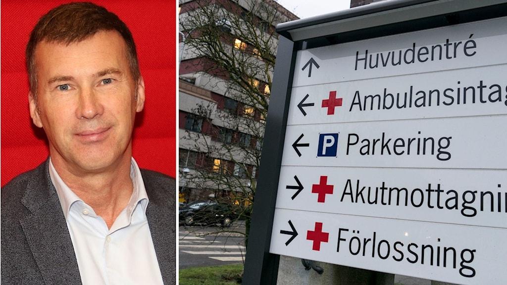 Per Ola Kimblad, biträdande förvaltningschef på Skånes universitetssjukhus.