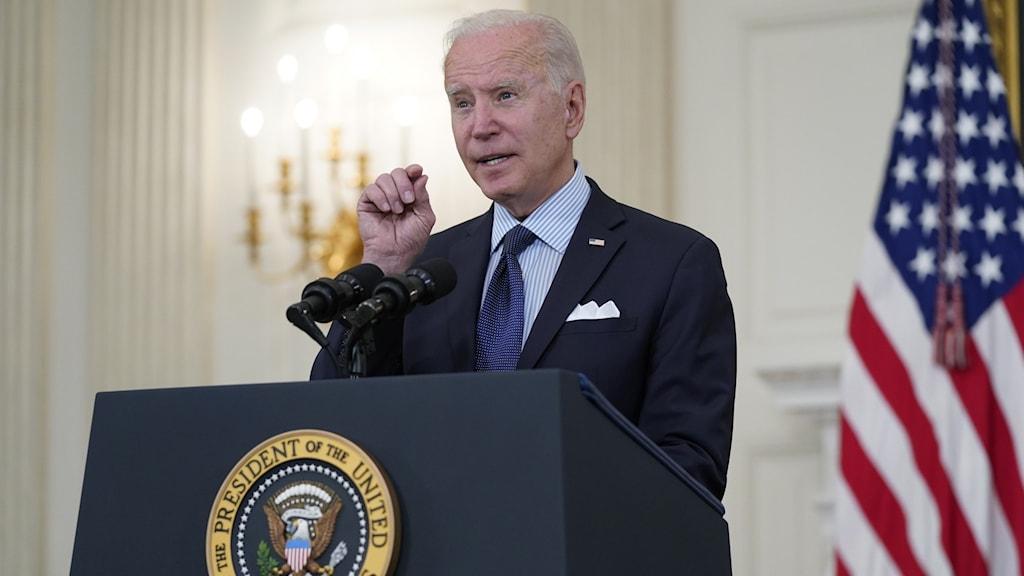 Joe Biden om vaccinationerna