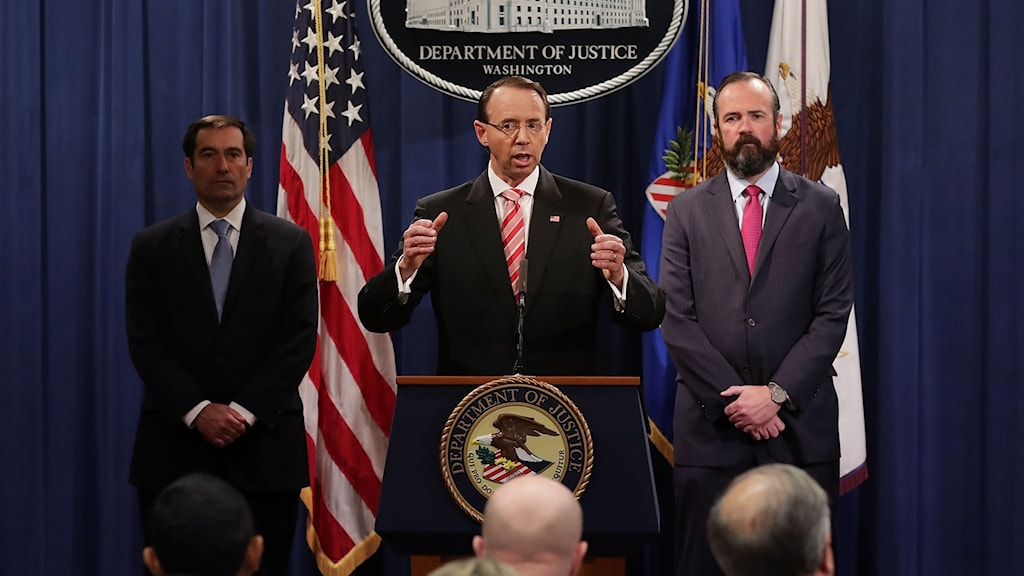 Ryska agenter åtalas för dataintrång