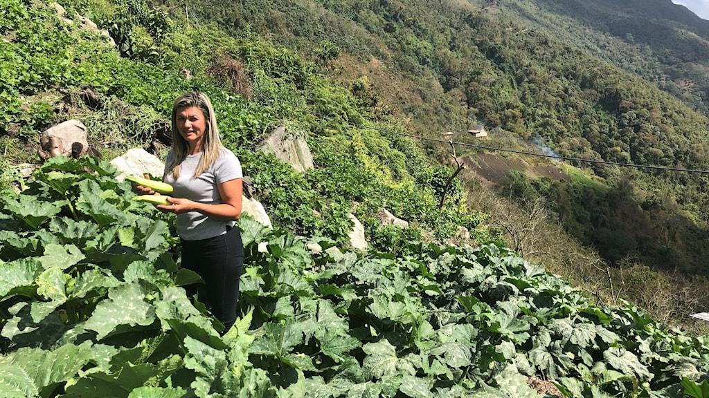 Kvinna i jordbruk