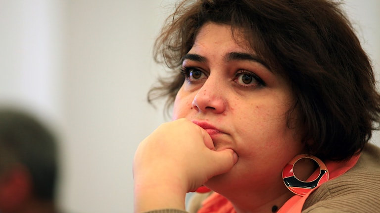 Khadija Ismayilova.