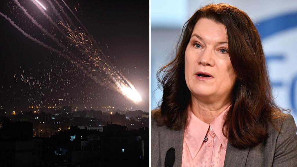 Sveriges utrikesminister Ann Linde