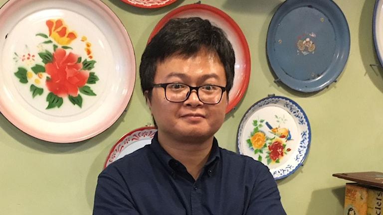 Människorättsadvokat Arnon Nampa driver målet mot militärregimen i Thailand.