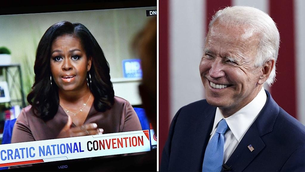 Obama: Rösta på Biden som om våra liv hängde på det