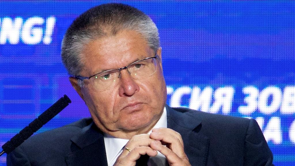 Ekonomiutvecklingsministern Aleksej Uljukajev