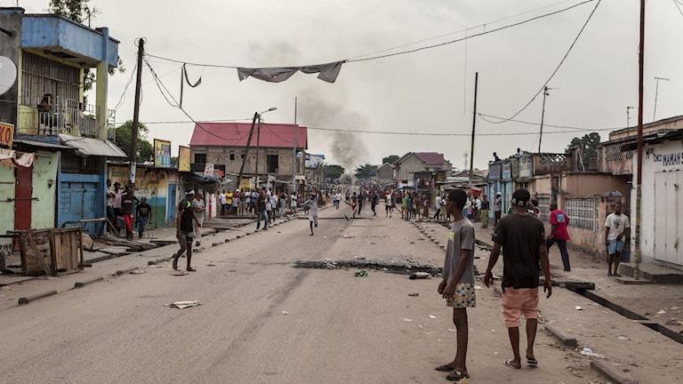 Flera människor har dött i protesterna i Kinshasa och Lubumbashi