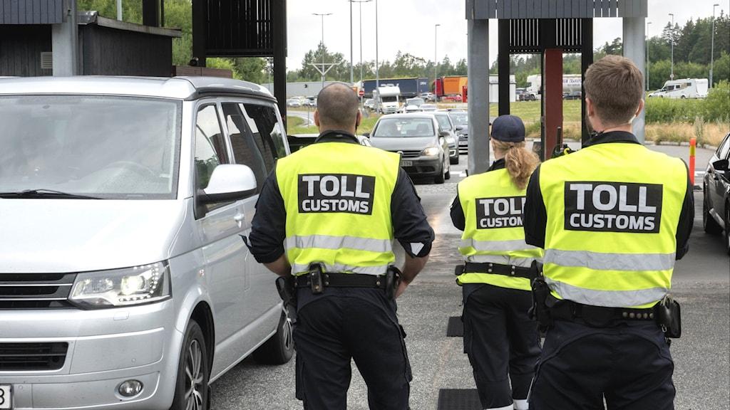 Tullen Norge Sverige