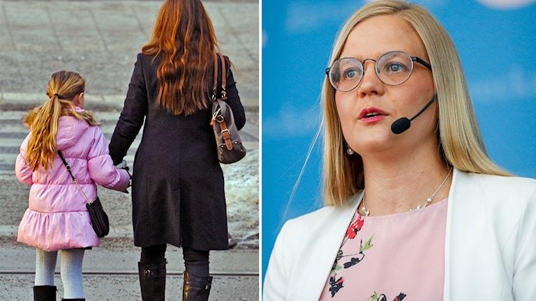 Julia Kronlid, Sverigedemokraternas socialförsäkringspolitiska talesperson.