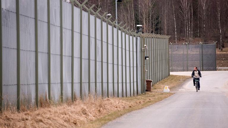 Staket runt kvinnoanstalten Hinseberg.
