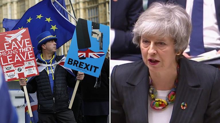 Theresa May uppmanar ledamöterna i underhuset att hålla nerverna i styr inför brexit-omröstningen på torsdag.
