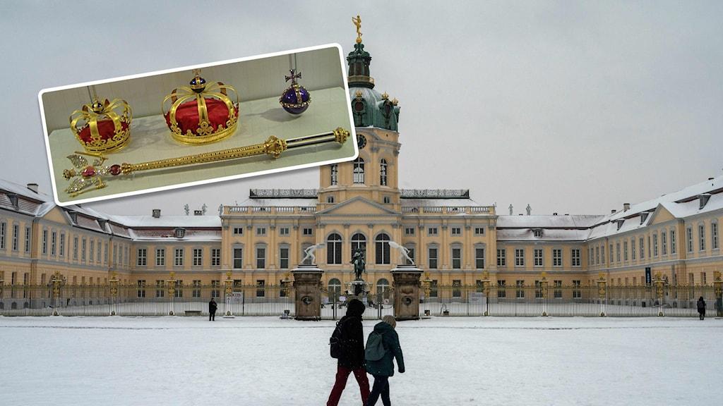 I nuläget finns de preussiska kronjuvelerna att se på slottet Charlottenberg.