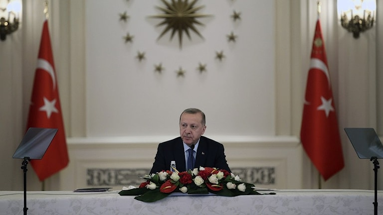 Turkiets president Edogan.