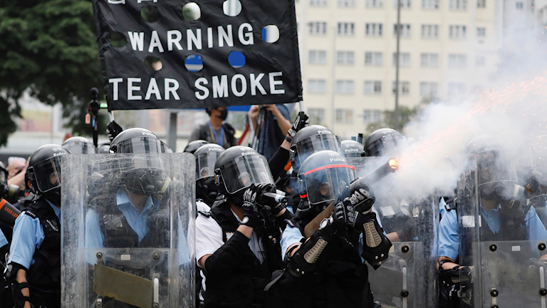 Hongkong demonstration