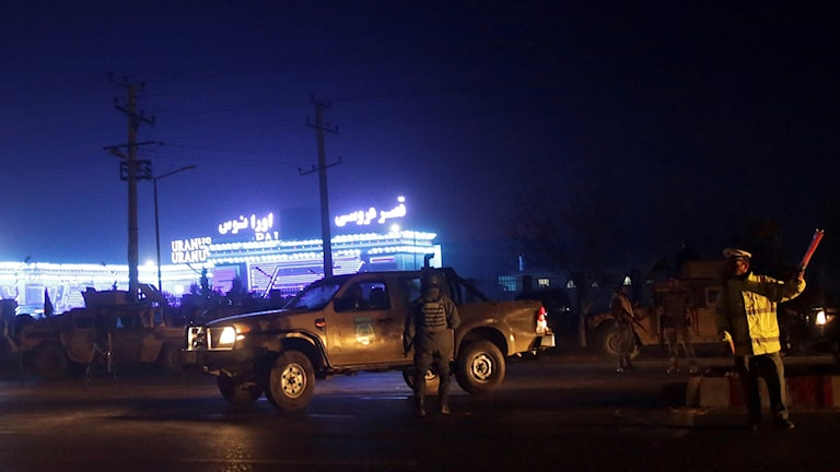 Attentat i Kabul