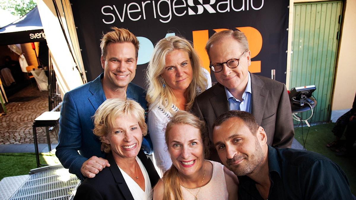 Övre raden: Anders Pihlblad, Camilla Kvartoft, Mats Knutson Under raden: Ann Tiberg, Annika Lantz, Johar Benjelloul