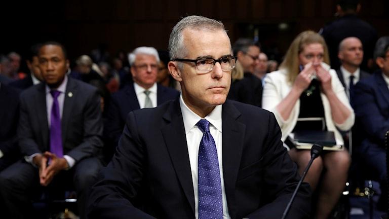 Andrew McCabe, tillförordnad FBI-chef.