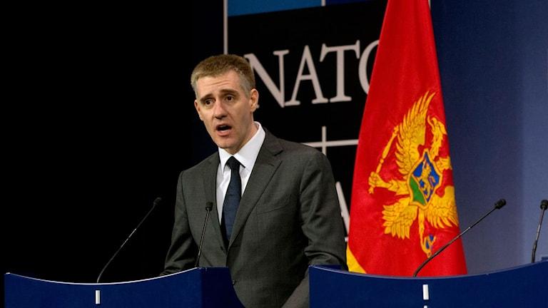 Montenegros utrikesminister Igor Lukšić.