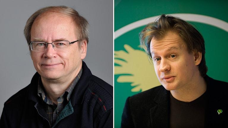 Valter Mutt och Carl Schlyter.