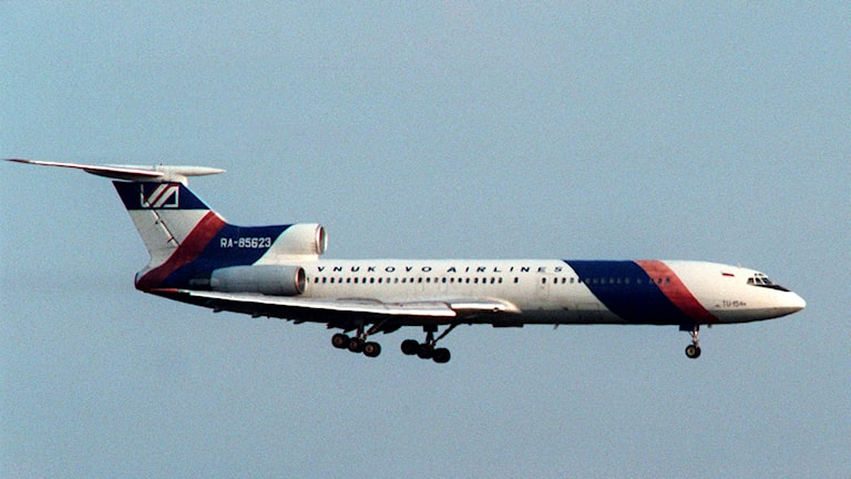 Tupolev Tu-154.