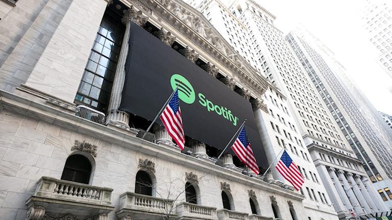 Spotify börsnoteras i dag