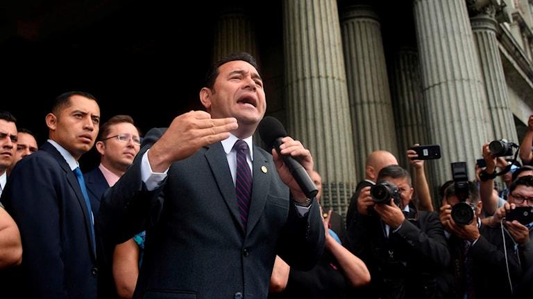 President Jimmy Morales
