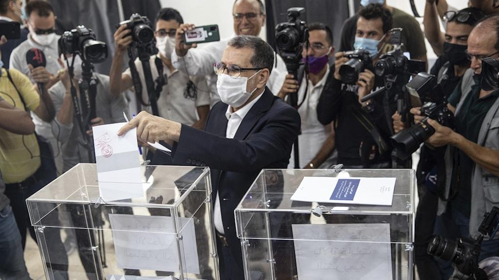Marockos premiärminister Saad Eddine el-Othmani (PJD).