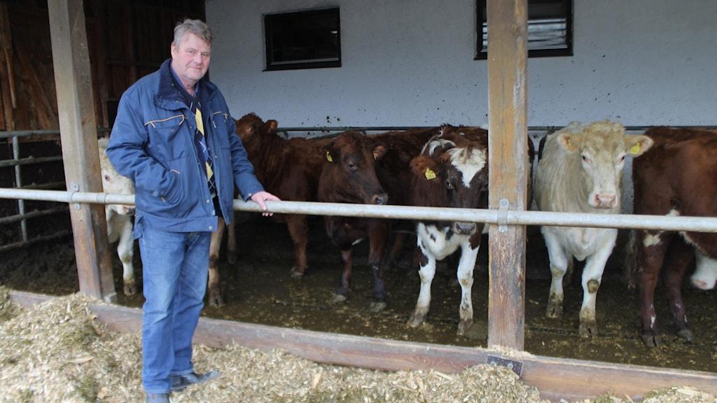 Håkan Lundgren, lantbrukare utanför Västervik.
