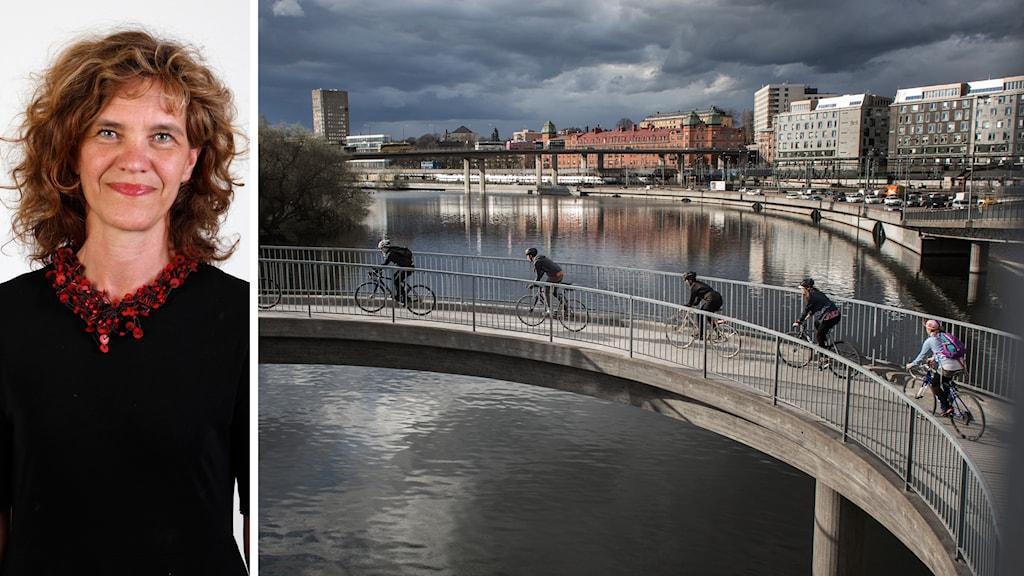 Maria Krafft är trafiksäkerhetsdirektör på Trafikverket