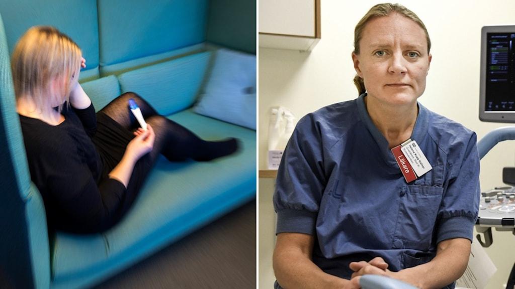 Helena Kopp Kallner vid Sveriges förening för obstetrik och gynekologi, ser Moderaternas utspel som ytterst betydelsefullt.