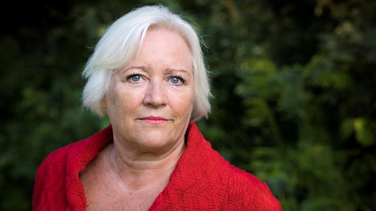 Barnombudsmannen Elisabeth Dahlin. Foto: Jonas Malmström.