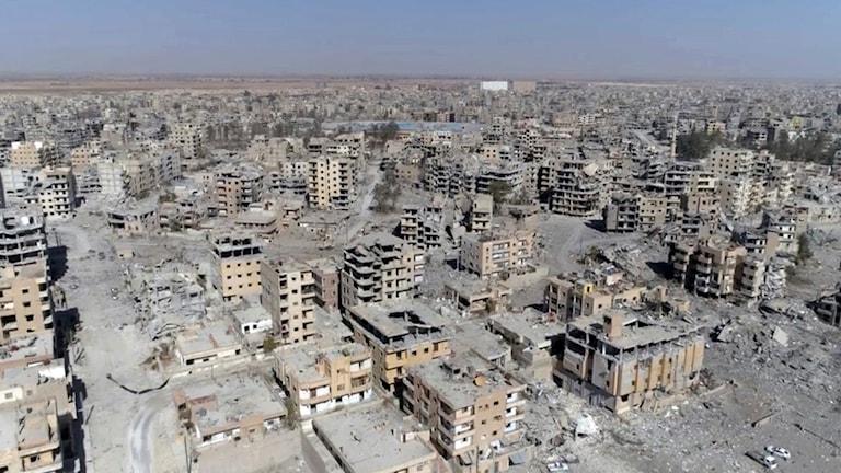 Raqqa, Syrien